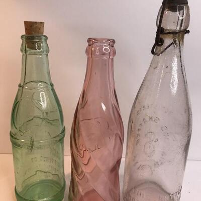 Lot 225:  Prototype Rare Pepsi Bottle/Coca-Cola Phila/Jos Shaffer Bottle