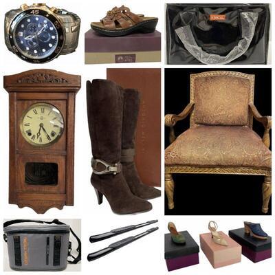 Invicta Men's Dive Watch - Beautiful Upholstered Chairs - 1889-S Morgan Silver Dollar - Ladies Footwear - Dirt Devil Powermax XL Vacuum -...