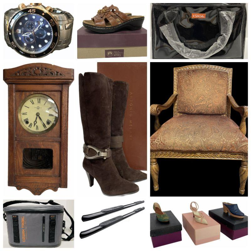 Invicta Men's Dive Watch - Beautiful Upholstered Chairs - 1889-S Morgan Silver Dollar - Ladies Footwear - Dirt Devil Powermax XL Vacuum - Just The Right Shoe By Raine Figurines - Etc.