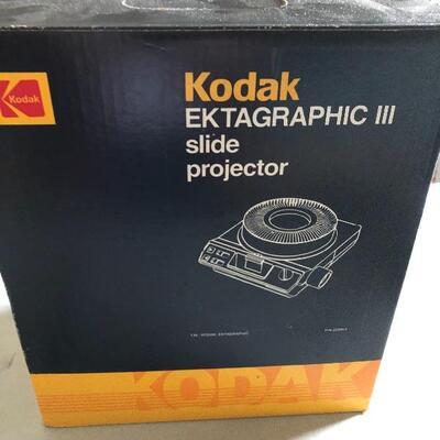 Vintage Kodak EKTAGRaphic III E Plus, A, AMT ATS Projector Works