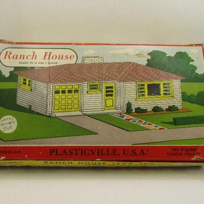 Lot 5 - Plasticville, USA Ranch House