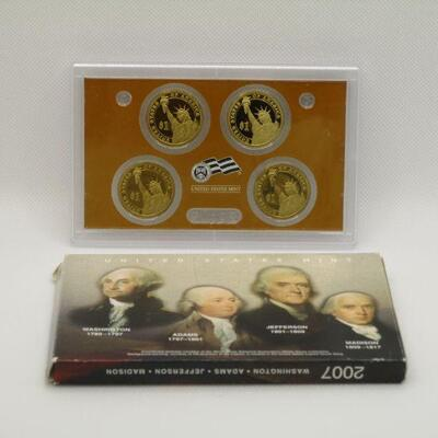 Lot 13 - 2007 US Mint Presidential $1 Coin Proof Set