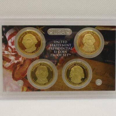 Lot 15 - 2007 US Mint Presidential $1 Coin Proof Set