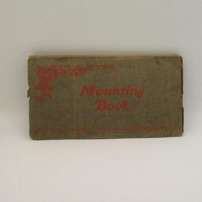 Lot 20 - Vintage Sunday School Mounting Book
