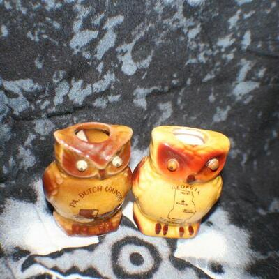 Owl Toothpick Holders 2 PC