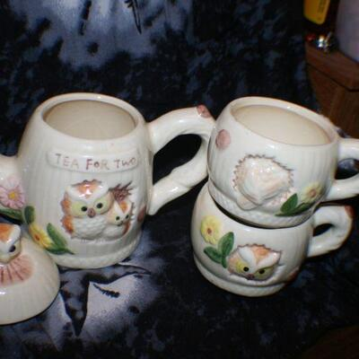 Owl Tea Set