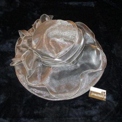 Lot 8 - Silver Gray Ladies Hat