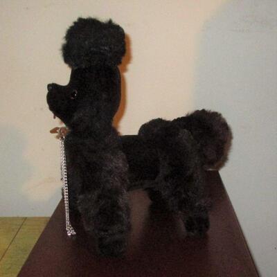Lot 16 - Black Stuffed Poodle