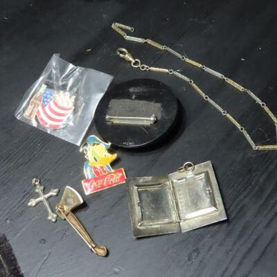 Pin and Pendant lot