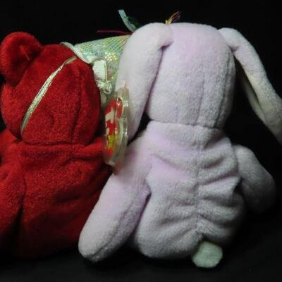 Beanie Babies July and Floppy
