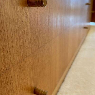 Scandinavian Danish Mid Century Modern wall unit cabinet