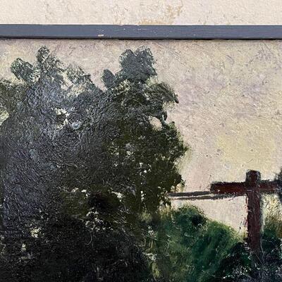 Steve Miner Kansas artist original oil painting