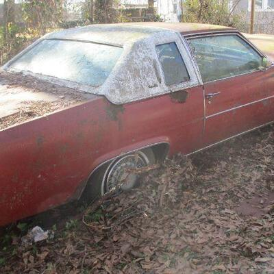 Lot 2 - 1978 Cadillac Coupe DeVille LOCAL PICK UP ONLY