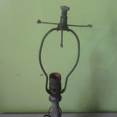 Lot 14 - Vintage Metal Project Lamp