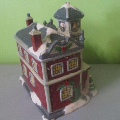 Lot 21 - Ceramic Fire Station