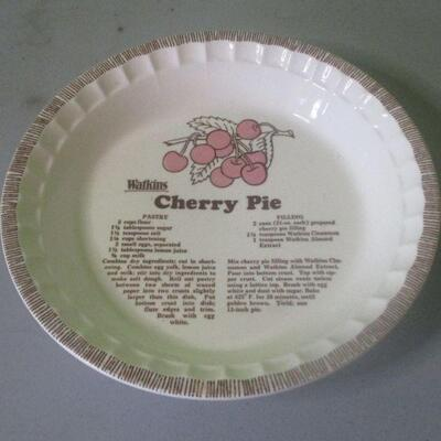 Lot 24 - Watkins Cherry Pie Plate