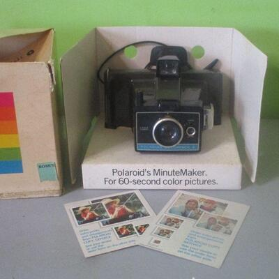 Lot 25 - Polaroid Minute Maker Land Camera
