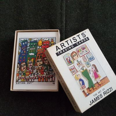 Artist Trading Cards - James Rizzi
