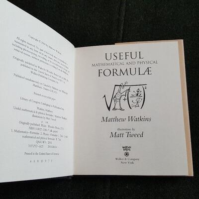 Useful Mathematical & Physical Formulae Book