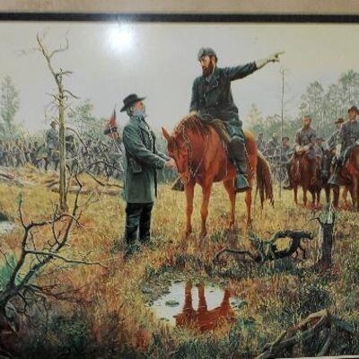 Civil War Framed Print (#28)