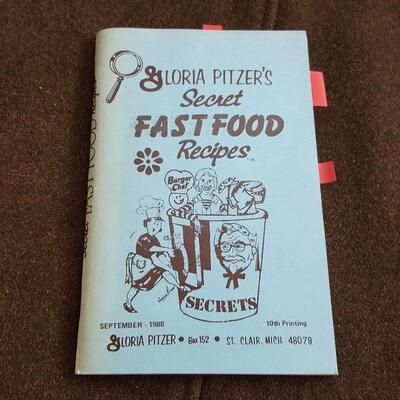 Gloria Pitzer's Secret Fast Food Recipes