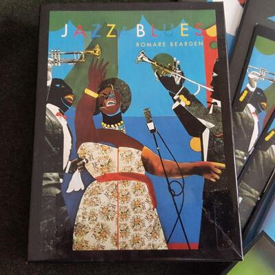 Jazz & Blues Note Cards