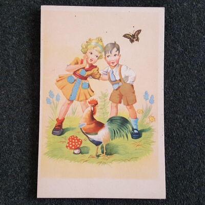 European Children Postcards