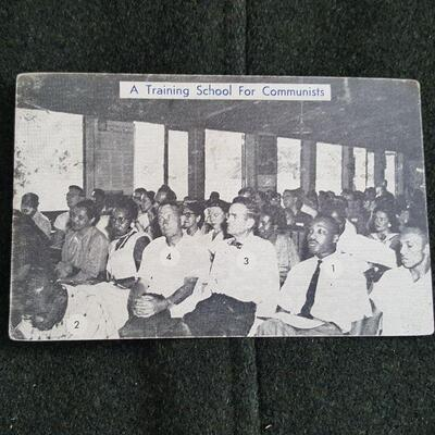 A Training School For Communism Postcard