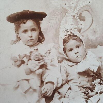 Sisters Cabinet Card