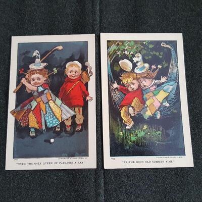 Vintage Julius Bien & Company Postcards