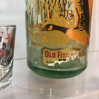 Vintage Old Fitzgerald Kentucky Bourbon Decanter