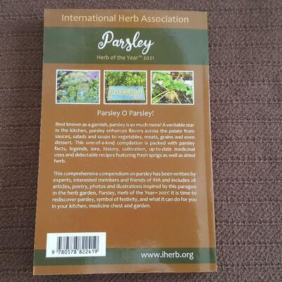 Parsley Book - IHA Herb of the Year Book