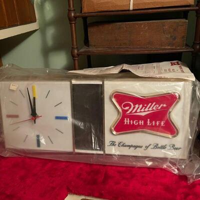 Miller High Life Clock