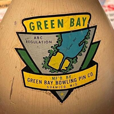 Green Bay bowling pin  #1