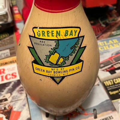 Green Bay bowling pin  #2