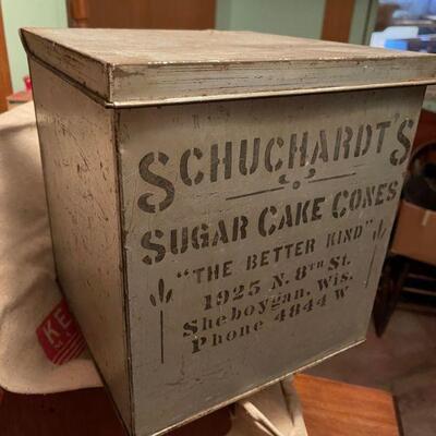 Schuchardt's Suger Cones Sheboygan, Wi
