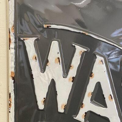 Lot 13 NWT XL Clock & Watch Repair Metal Sign 32x22
