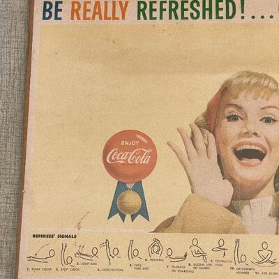 Lot 30 Coca Cola Print Under Film