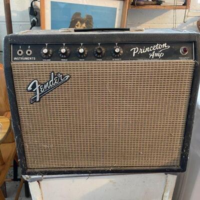 1960's Fender Princeton Amp