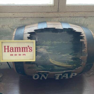 Hamm's on tap Keg River scene Beer Light (UPDATE POSTED)