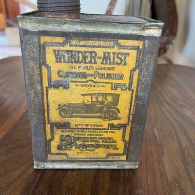 Wunder-Mist car wax 1920's