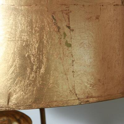 Lamp Lot - 2 lamps - Huge Gold Figural Table Lamps Neoclassical  Hollywood Regency YD# 22-0001