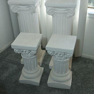 Greek Column Stands (4) YD#022-0007