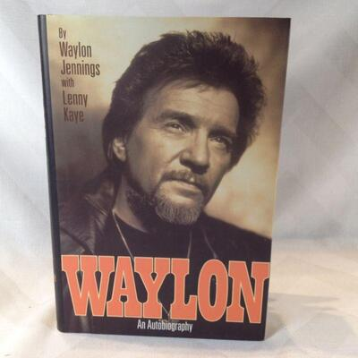 Waylon - An Autobiography, Autographed