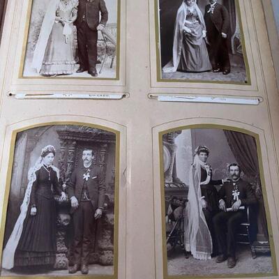 Vintage photo album full of vintage photos #2