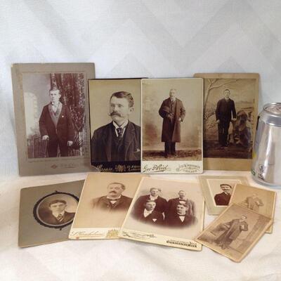 Collection of Cabinet Cards & Carte de Visites