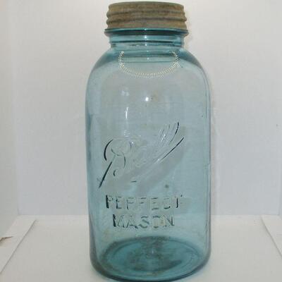 Lot 3 - Ball Perfect Mason Jar Half-Gallon GOOGLE ALERT