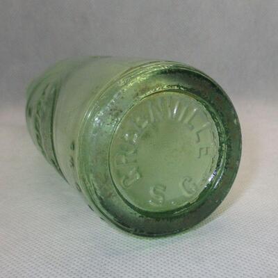 Lot 5 - Embossed 6 oz Dr Pepper Bottle Greenville SC