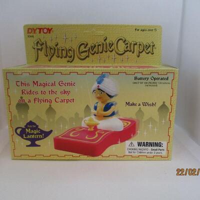 Lot 15 - Flying Genie Carpet Toy