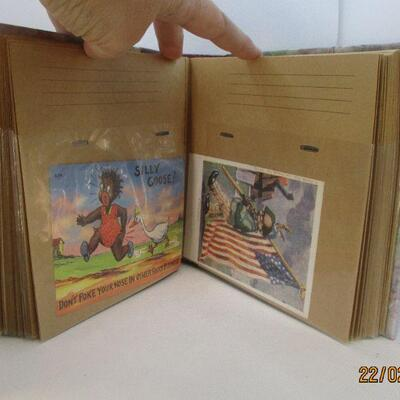 Lot 19 - Post Card Book with Black Americana Post Cards